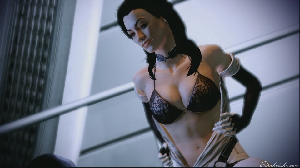I know many people wanted to finish Mass Effect 2 just to watch this scene :p