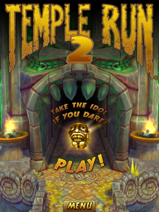 Temple Run 2 - Home Screen