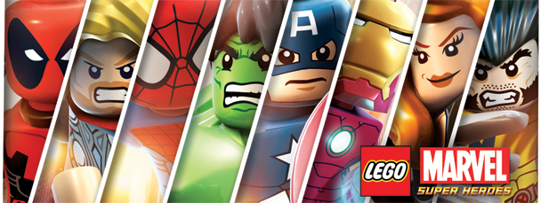 Marvel Super Heroes Marvel LEGO Super Heroes announced