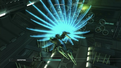 Zone of the Enders combines challenging fast-action and giant robots into a sweet package