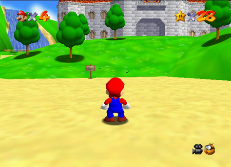Super Mario 64 ushered in a new era for 3D graphics and game design