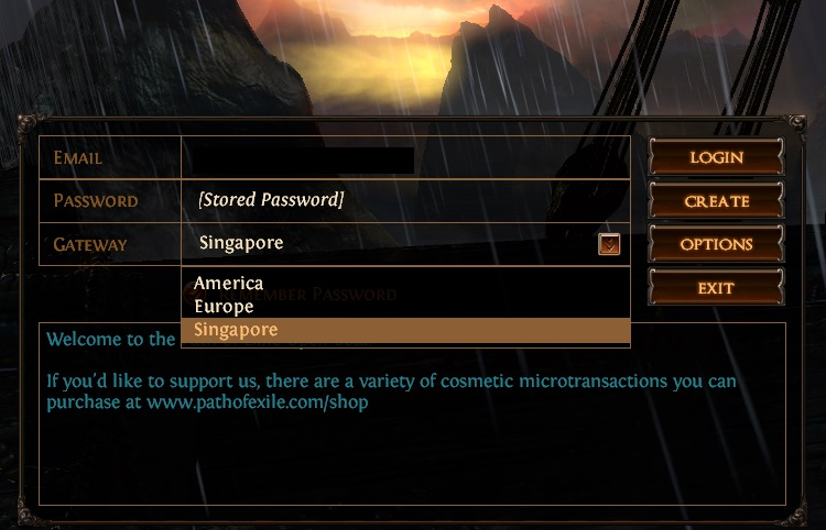 Singapore Server offers best Ping in India