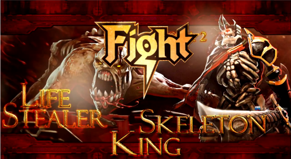 Skeleton King vs Lifestealer DOTA 2 Hero Wars, Episode 1: Lifestealer vs Skeleton King