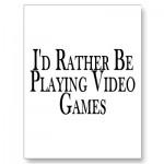 Video Gaming Feels Good