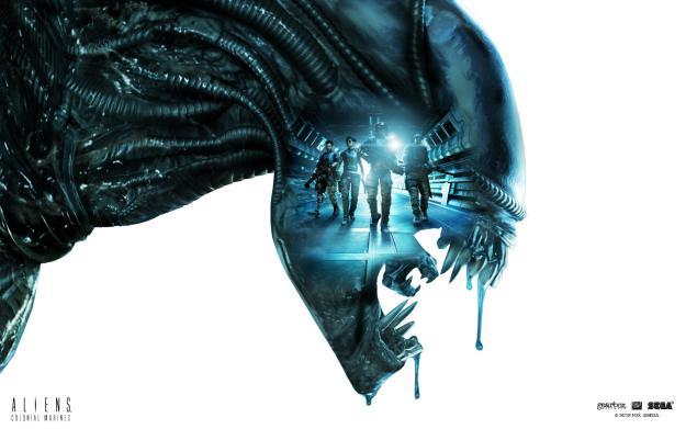 aliens colonial marines logo Aliens Colonial Marines Wii U Postponed Indefinitely