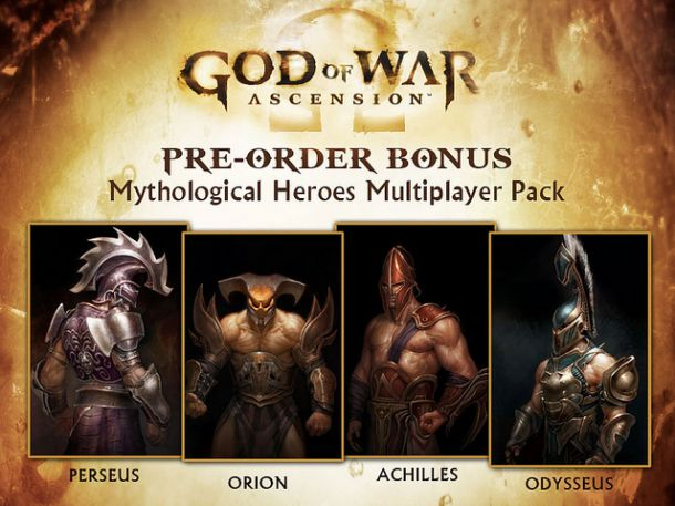 gow Exclusive God of War: Ascension pre order offers