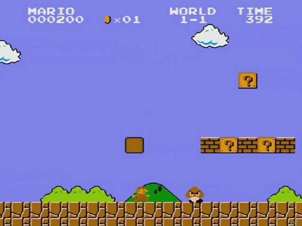 super mario bros Reality or Illusion: Violence in Video Games