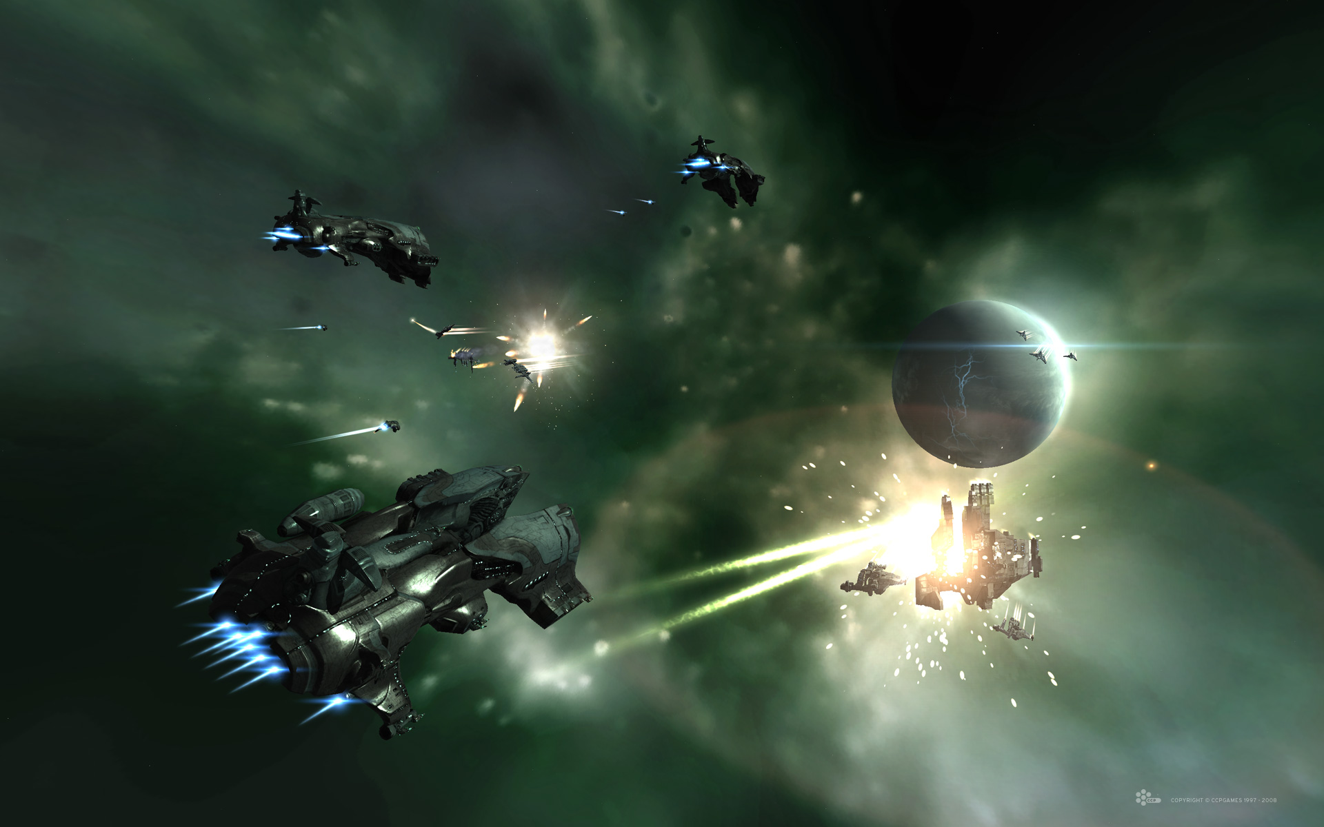 EVE Online's dynamic and emergent structure makes all the decisions you make in the game less obvious