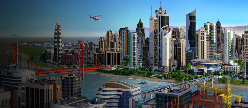 SimCity E3 966x423 SimCity Review: Charming, incredibly fun but flawed