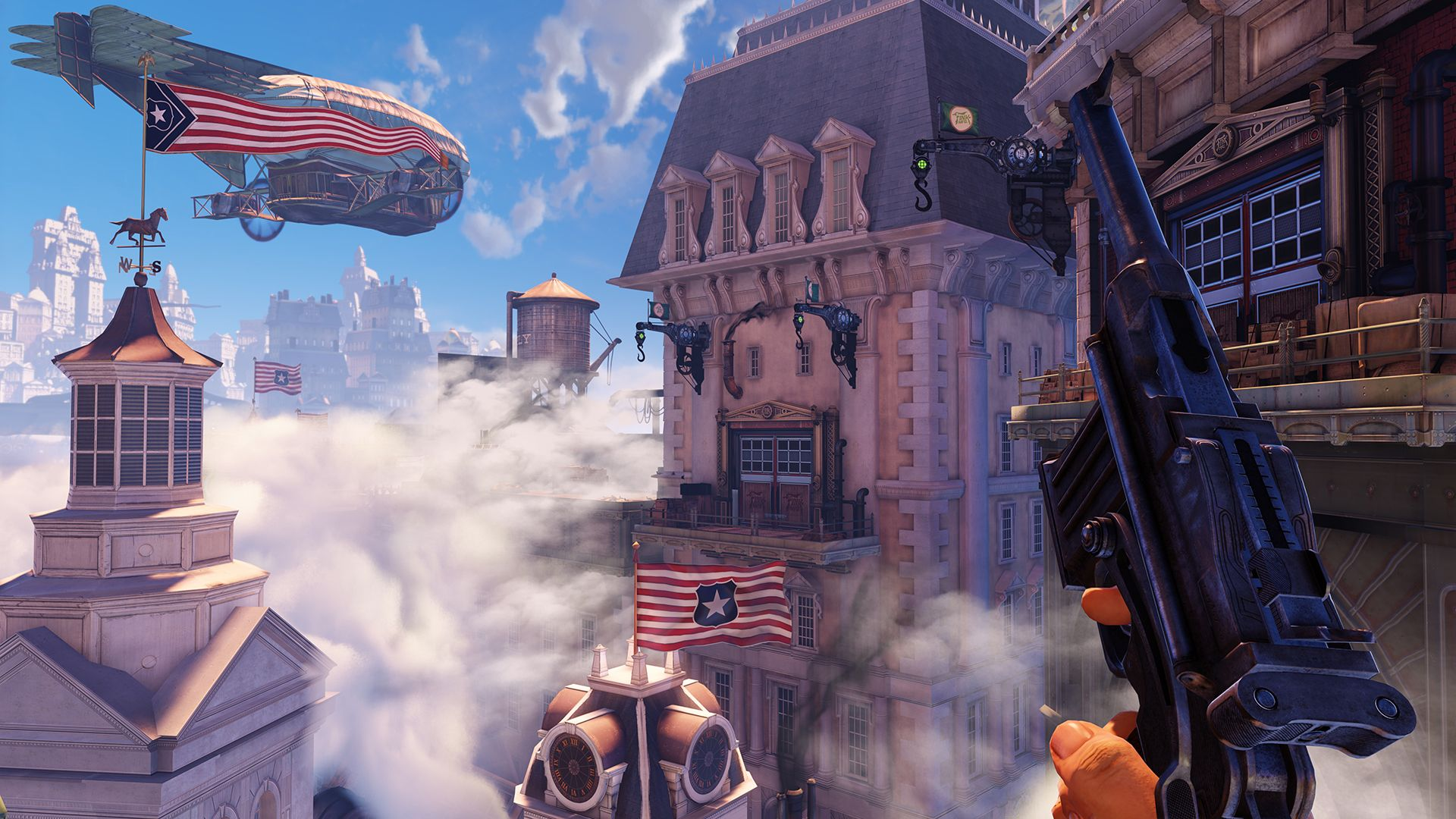 Columbia is vibrant and artfully designed but it's subtlety makes it less absorbing than BioShock's Rapture