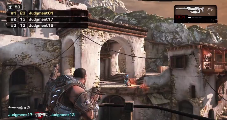 Gears of war judgment free for all 940x500 Gears of War: Judgment   The iLL Review