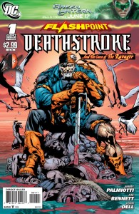 Deathstroke Flashpoint 1 Cover 195x300 The Villains of Batman: Arkham Origins   The ill Speculations