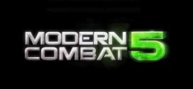 Modern Combat 5 E3 trailer