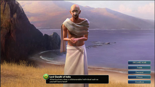 Civ Mahatma Gandhi Independence Day Special: Top Indian Moments in Video Games