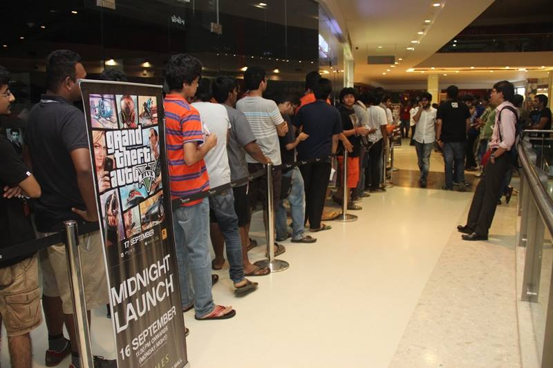 GTA V Midnight Launch Mumbai