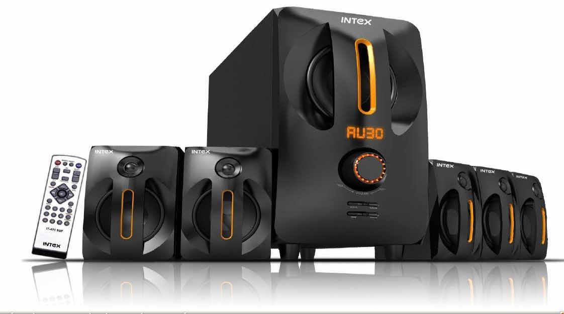 IT-470 SUF 5.1 Multimedia speakers