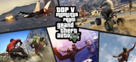 Top Five Moments in GTA V
