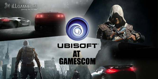 Ubisoft at Gamescom 2013