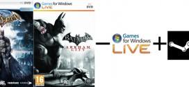 Batman GFWL (Games for Windows Live) Announcement