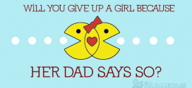 Ultimate Chic Flick: Will you give up a girl because her dad says so?