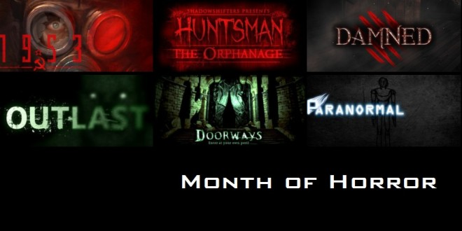 Month of Horror Halloween Special: Games that'll spook you good