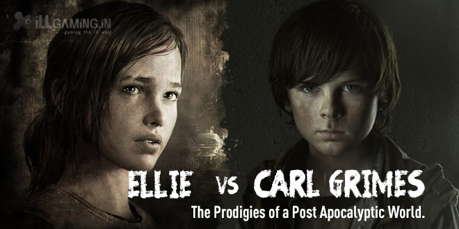 Ellie (The Last of Us) vs Carl Grimes (The Walking Dead): The Prodigies of a Post Apocalyptic World