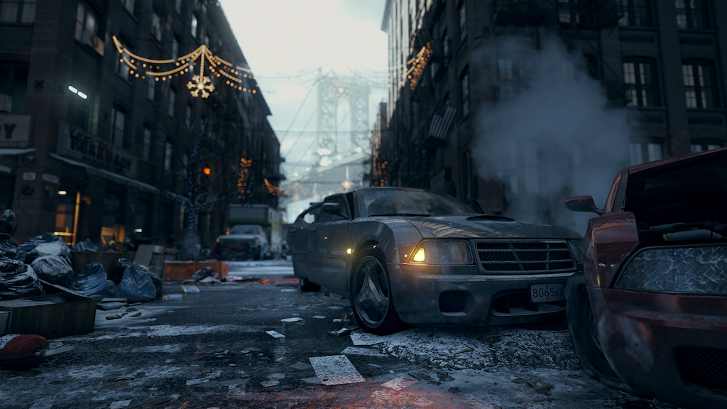 An accident, from Tom Clancy's The Division