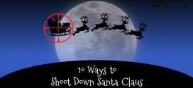10 Gaming Ways to hunt down Santa Claus this Christmas