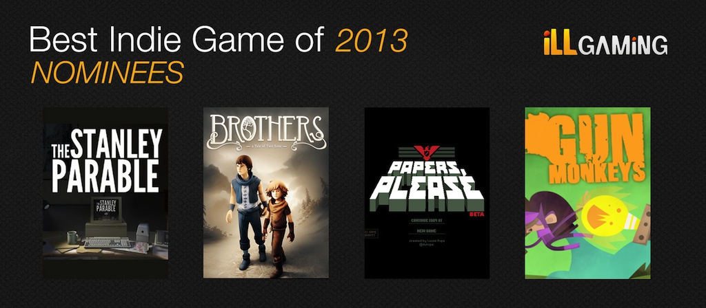 indie nominees 2013 2013: iLL Gaming Awards   The iLLest Awards