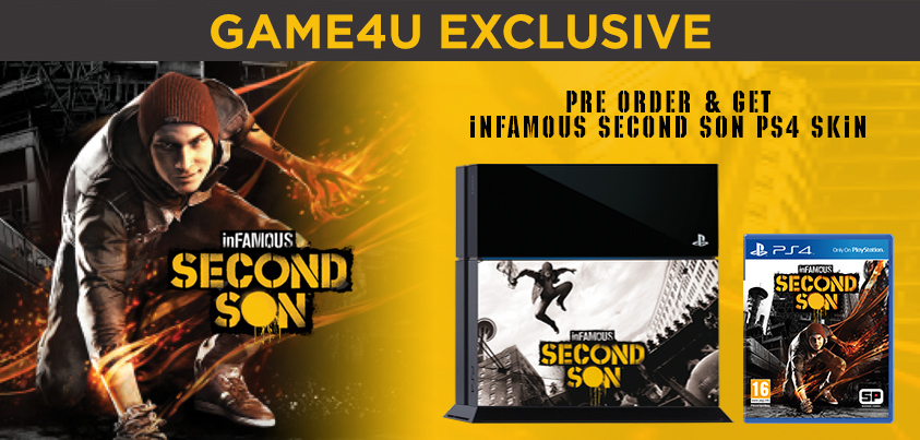 Infamous second son game4u preorder