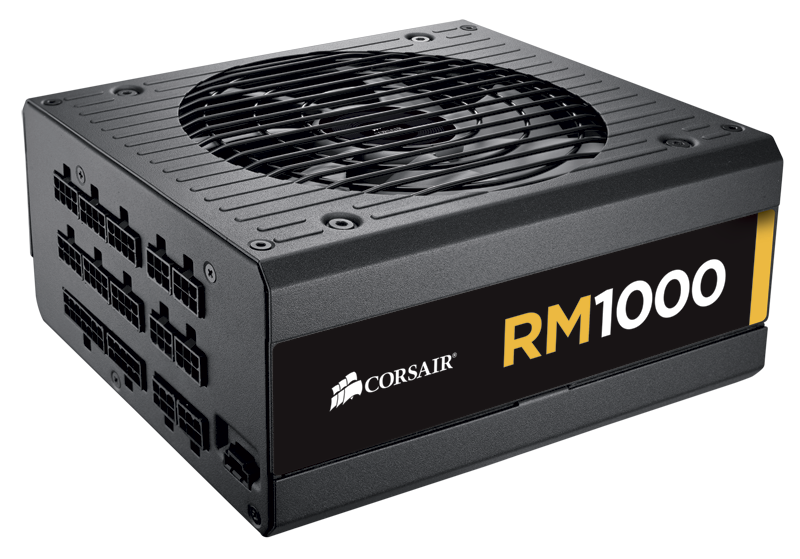 rm1000 sideview a Corsair RM1000 Power Supply Unit Review