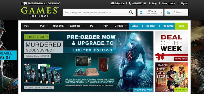 Games The Shop launches online e-commerce store