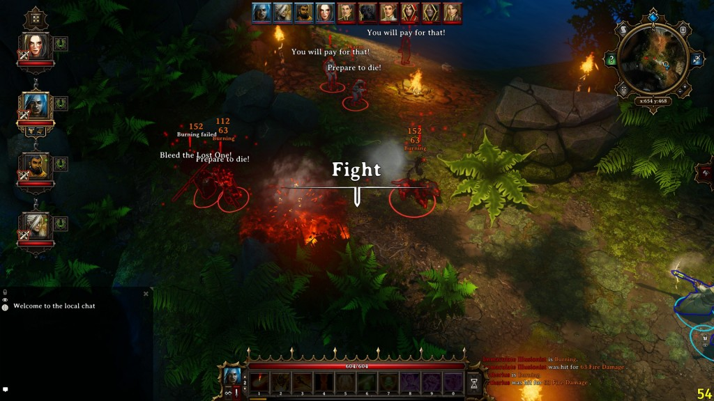 Turn Based Tactical combat in a rich graphical environment