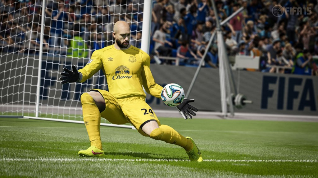 One of the most improved assets of FIFA 15 is the goalkeeper