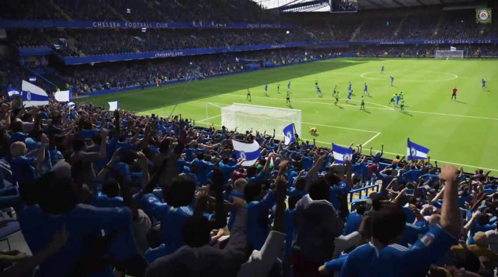 The crowd really gets behind you in FIFA 15