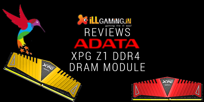 ADATA XPG Z1 DDR4 RAM Review