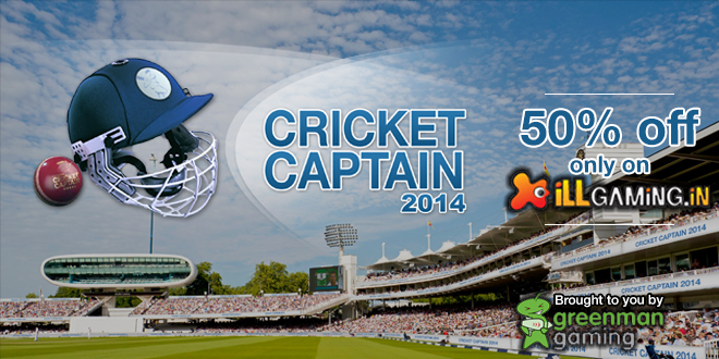 Cricket Captain 2014 iLLGaming Promo