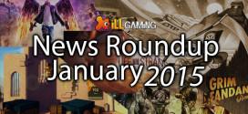 Gaming News January 2015: Roundup
