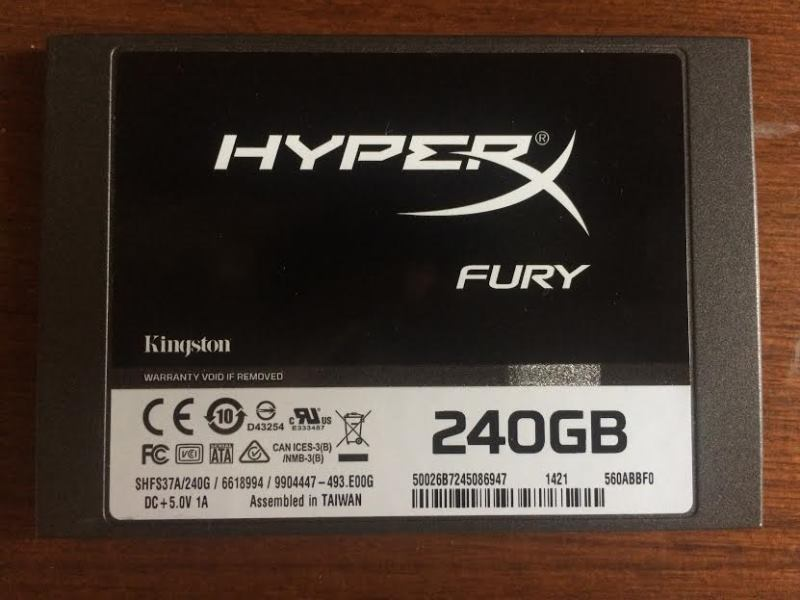 HyperX Fury 240GB Review
