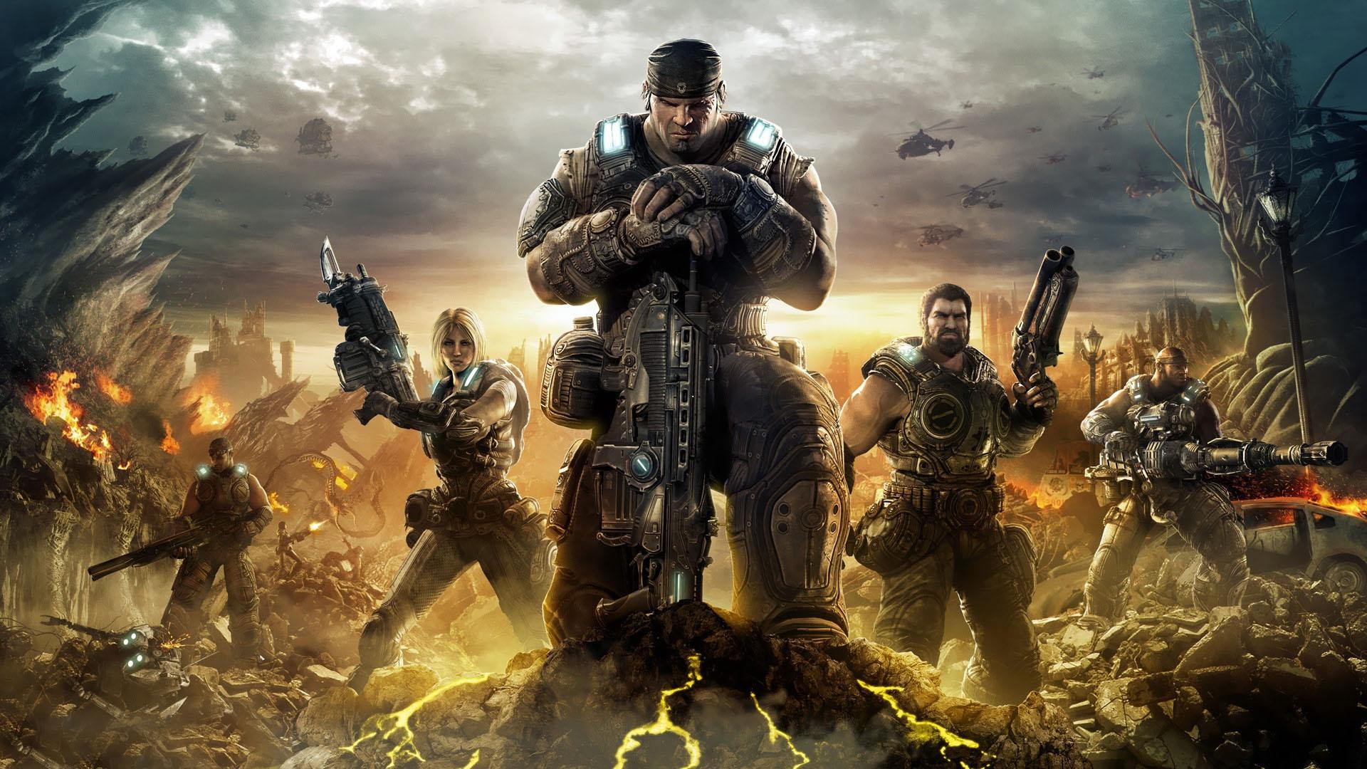 Gears of War Top Xbox