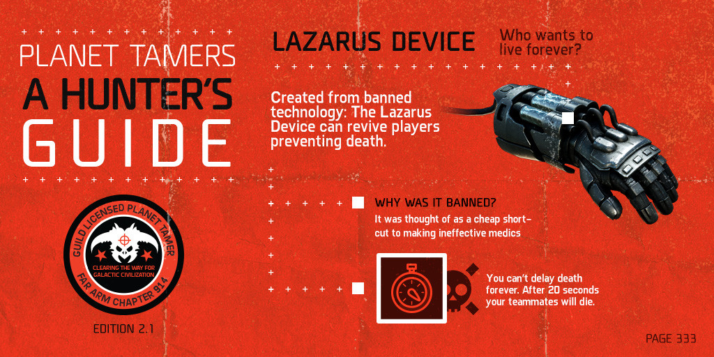 The Lazarus Device - an iLLegal Gamechanger