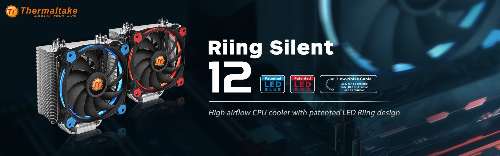 Ill Launch Feed Illgaming Psu Pure 400w Ready 6pin Vga Thermaltake India Launches The Latest Riing Silent 12 Cpu Cooler