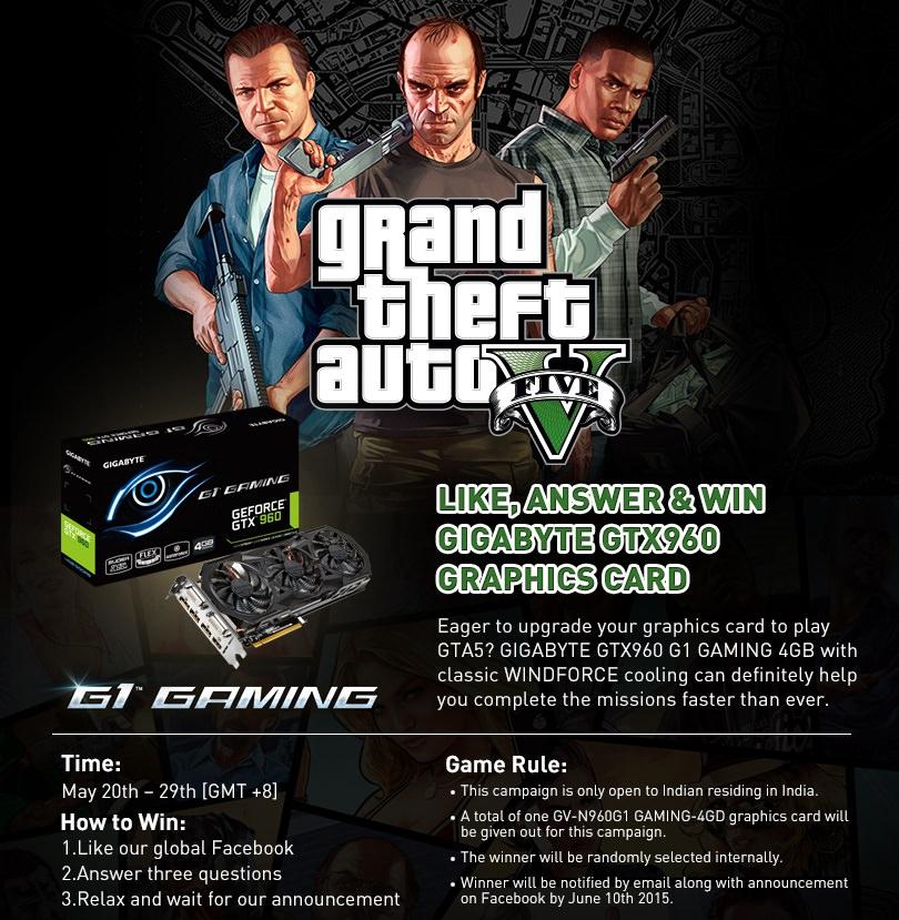 Gigabyte GTX 960 contest