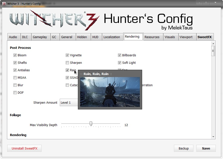 Hunter's Config
