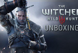Witcher 3 unboxing