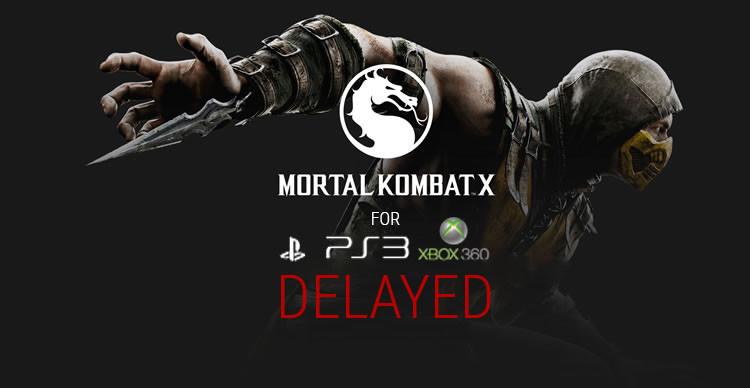 Mortal Kombat X delayed