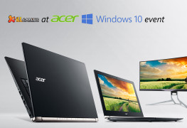 iLL at Acer Windows 10 event