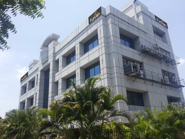 Funizen's Head Quarters in Chennai