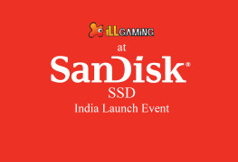 iLL at SandDsk India SSD launch event