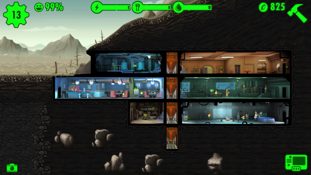 My failures in Fallout Shelter
